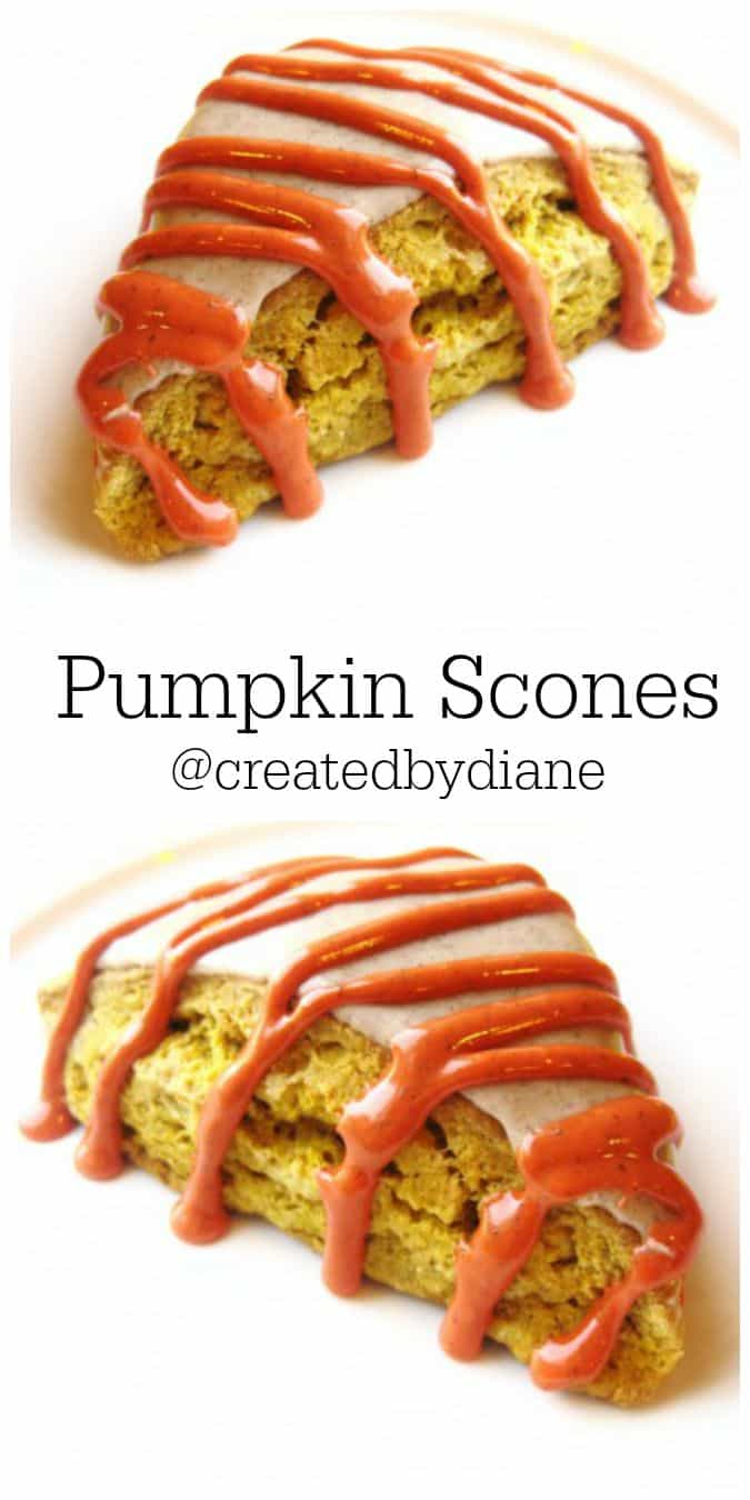 Pumpkin Scone RECIPE from @createdbydiane BETTER THAN STARBUCKS this is a MUST MAKE RECIPE!!!