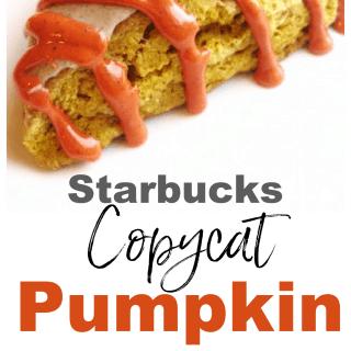 starbucks copycat pumpkin scones createdbydiane.com