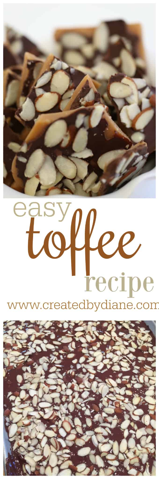 easy toffee recipe www.createdbydiane.com