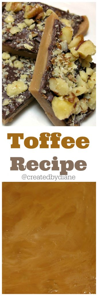 toffee-recipe easy to make in under 30 minutes that EVERYONE will love, perfect for the holidays @createdbydiane