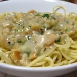 classic clam sauce with pasta