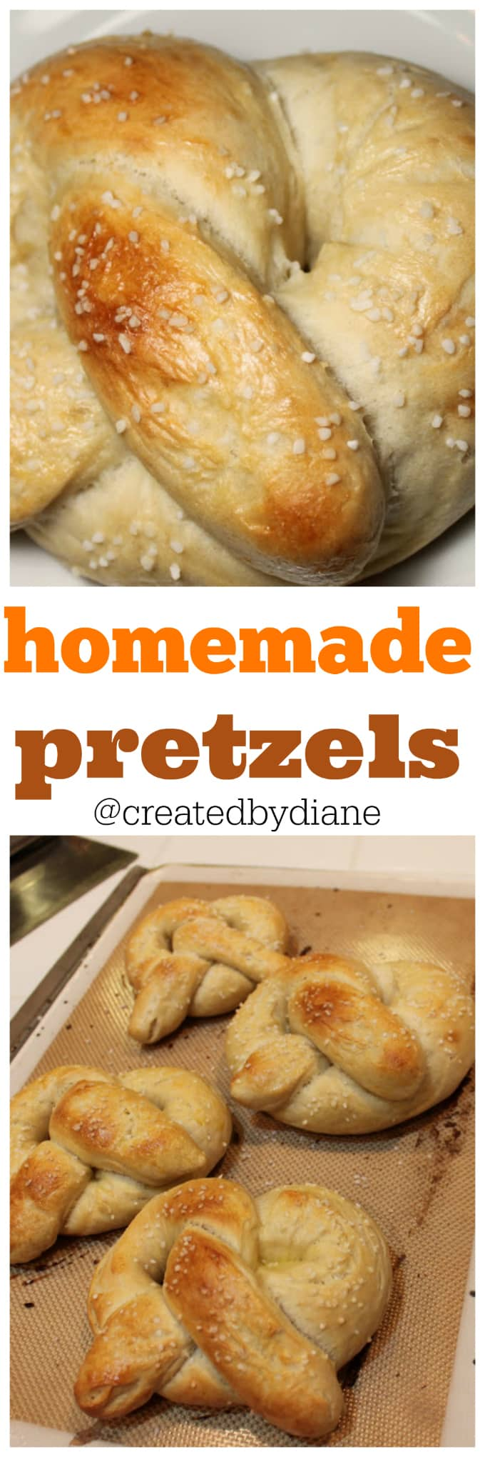 homemade pretzels from @createdbydiane