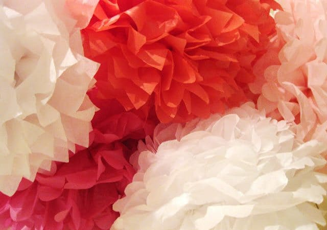 how to make paper flowers @createdbydiane