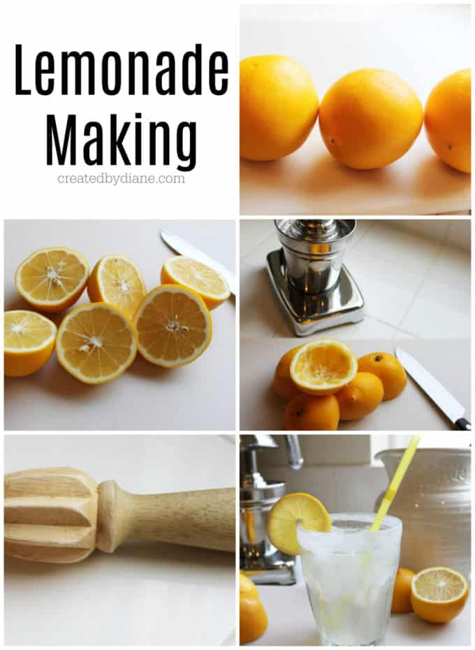 lemonade making createdbydiane.com