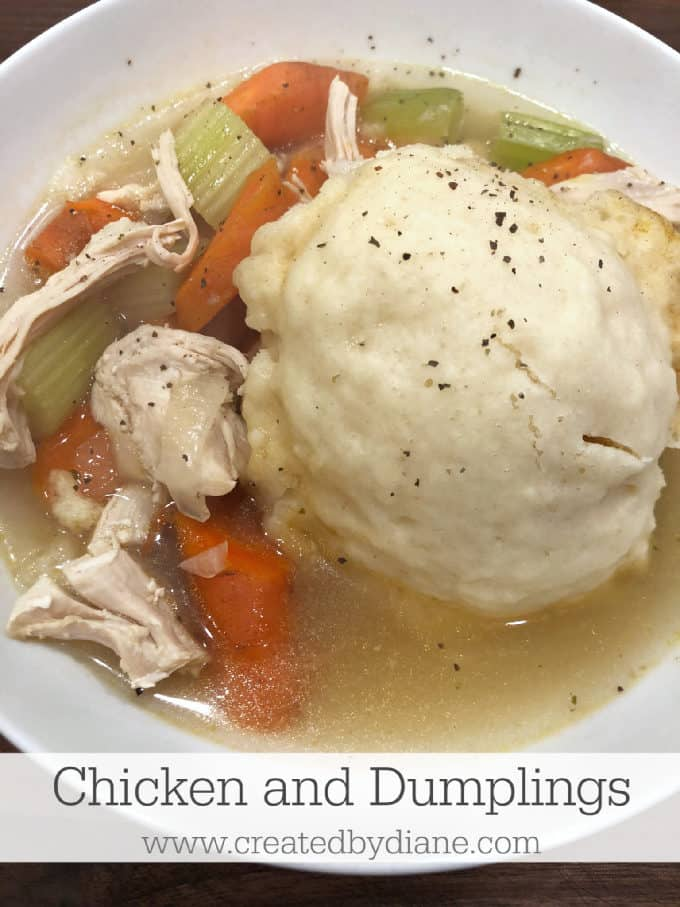 chicken and dumplings recipe from www.createdbydiane.com