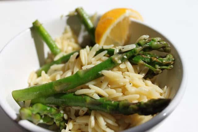 lemon and asparagus orzo @createdbydiane