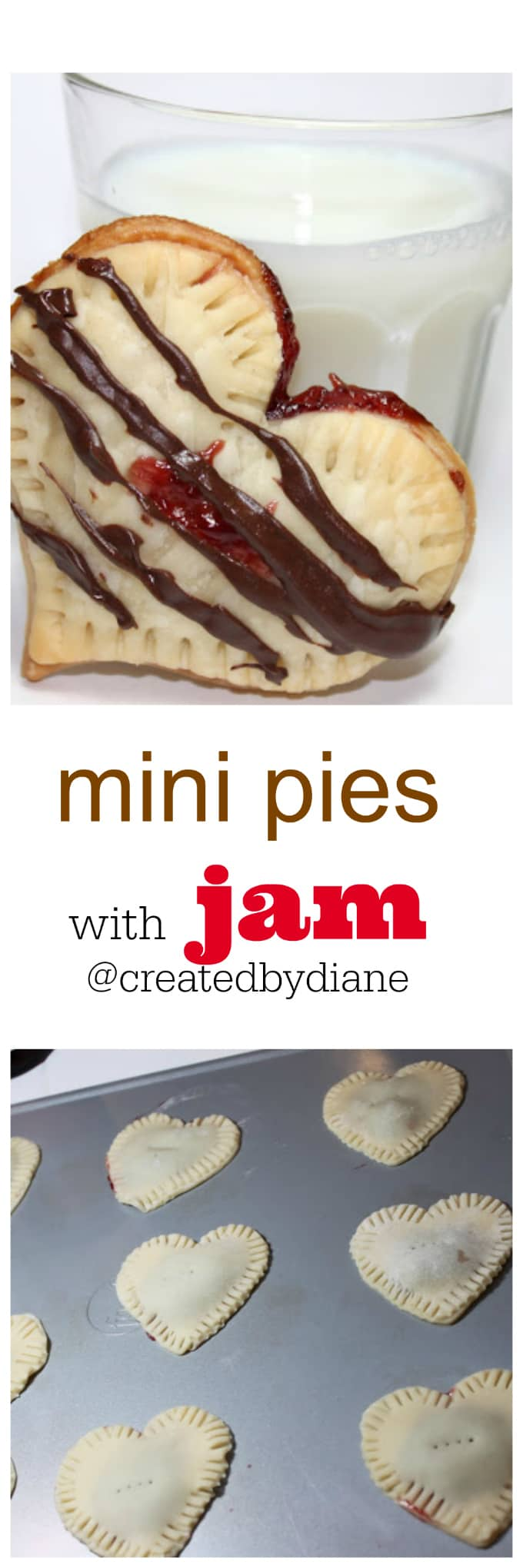mini pies with jam @createdbydiane