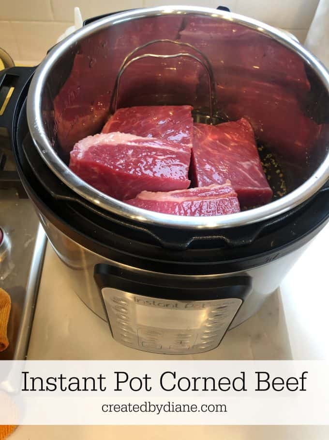 Instant Pot Corned Beef createdbydiane.com