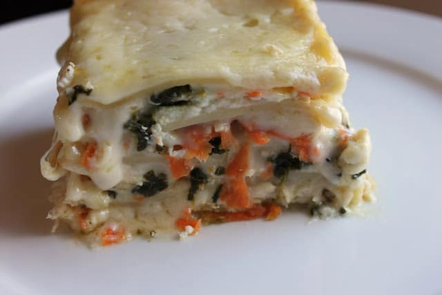 chicken vegetable lasagna @createdbydiane