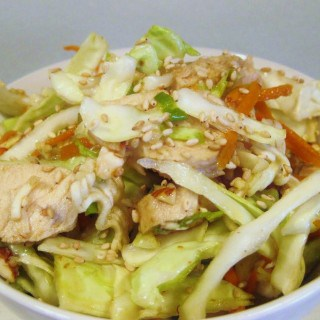 Chinese Chicken Cabbage Salad