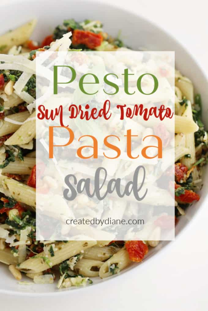 Pesto Pasta Salad createdbydiane.com