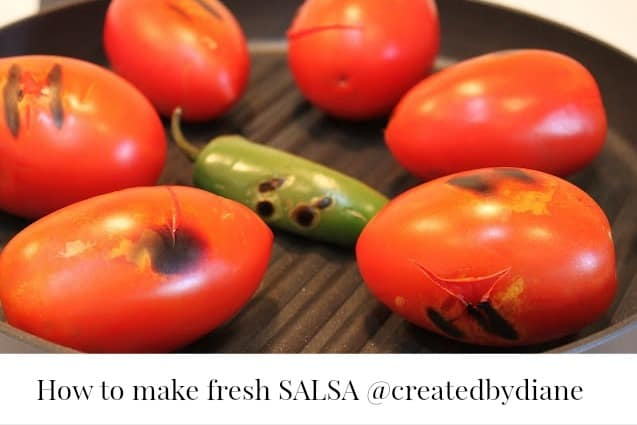 fresh salsa recipe @createdbydiane
