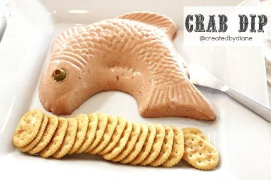 crab dip from @createdbydiane