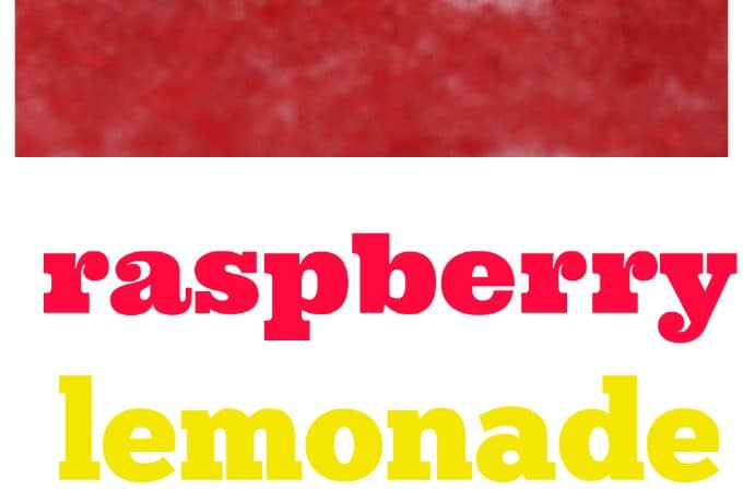 raspberry lemonade recipe with real fruit
