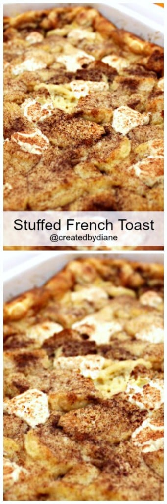 stuffed french toast recipe great for the holidays @createdbydiane