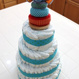 Diaper Cake… No baking required!