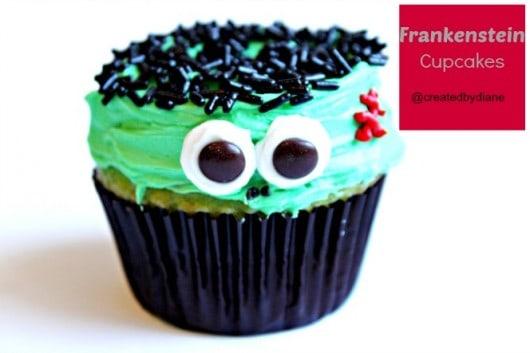 Frankenstein Cupcakes @createdbydiane.jpg