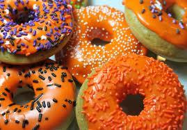 pumpkin donuts @createdbydiane