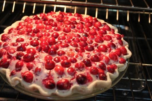 cranberry cheesecake pie @createdbydiane