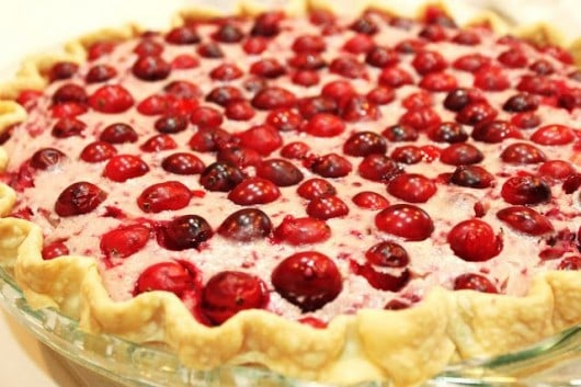 Cranberry Cheesecake Pie from @createdbydiane #pie #cranberry #Thanksgiving