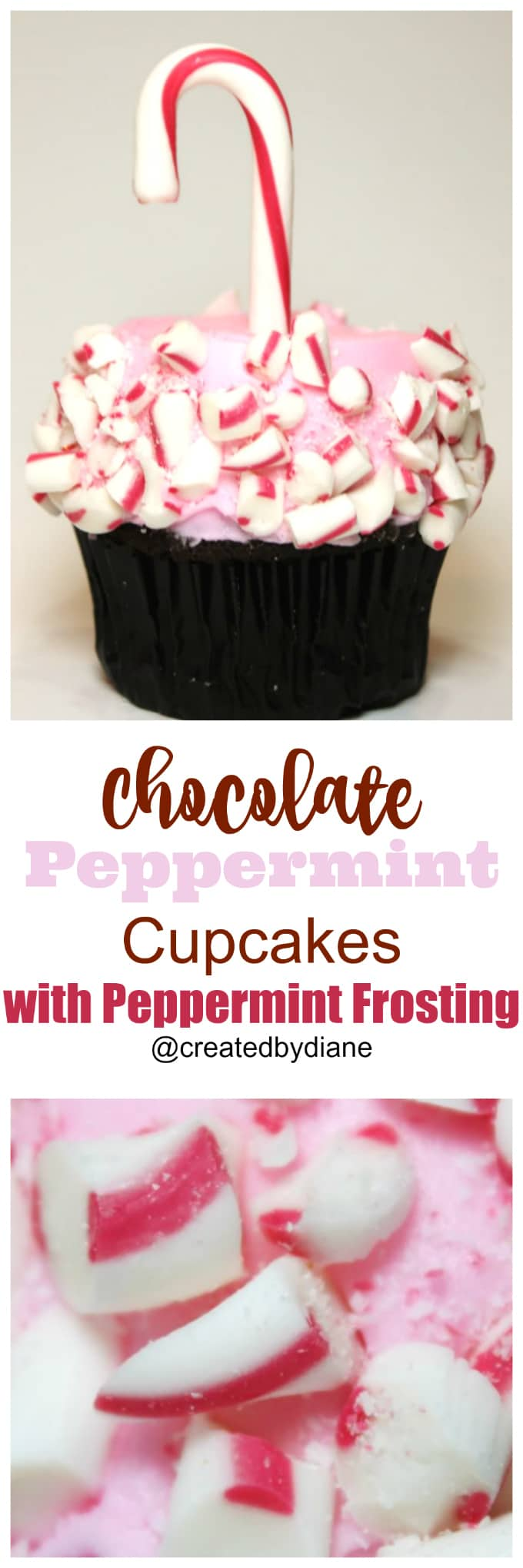 chocolate-peppermint-cupcakes-with-peppermint-frosting-and-candy-canes-createdbydiane