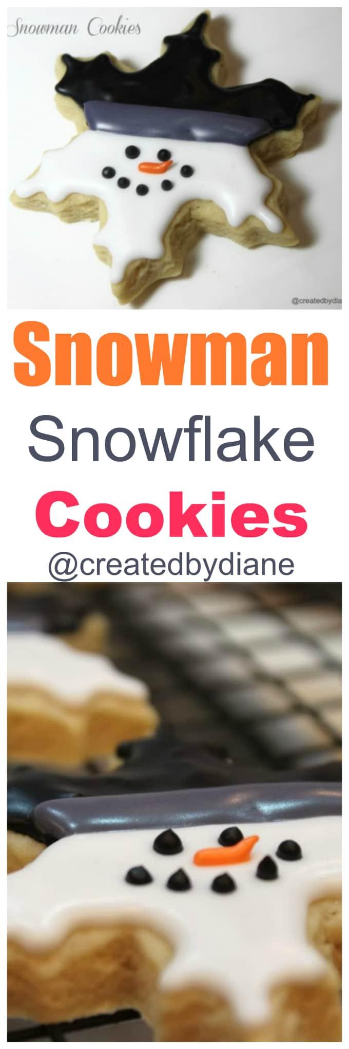 snowman-snowflake-cookies-createdbydiane