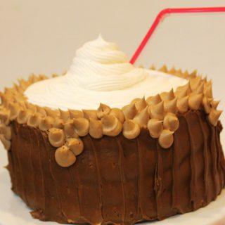 cake RootBeer Float
