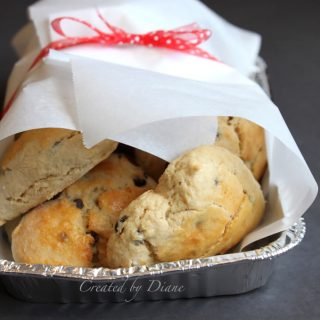 scones peanut butter chocolate chip