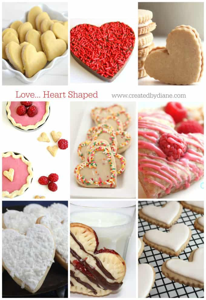 love... heart shaped recipes www.creatdbydiane.com