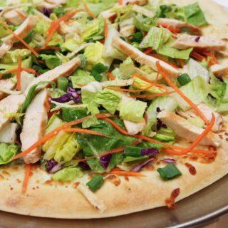 Chinese-Chicken-Salad-Pizza