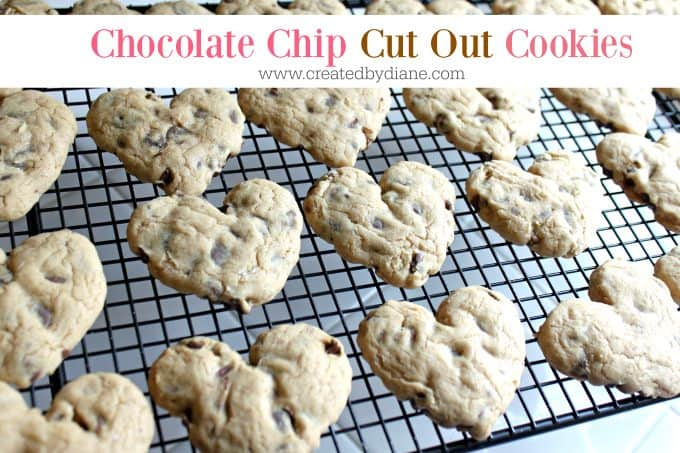 chocolate chip cut out cookies www.cre