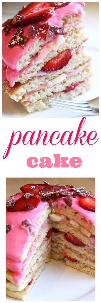 pancake cake from @createdbydiane