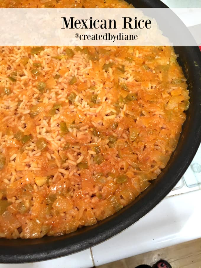 Mexican rice recipe created by diane nothing better than home cooking forumfinder Gallery