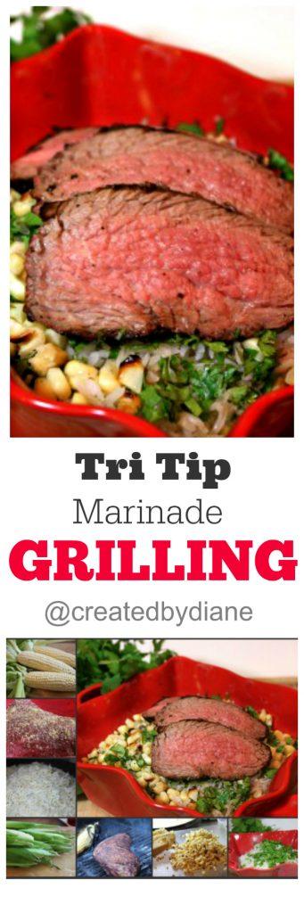 tri tip marinade grilling @createdbydiane