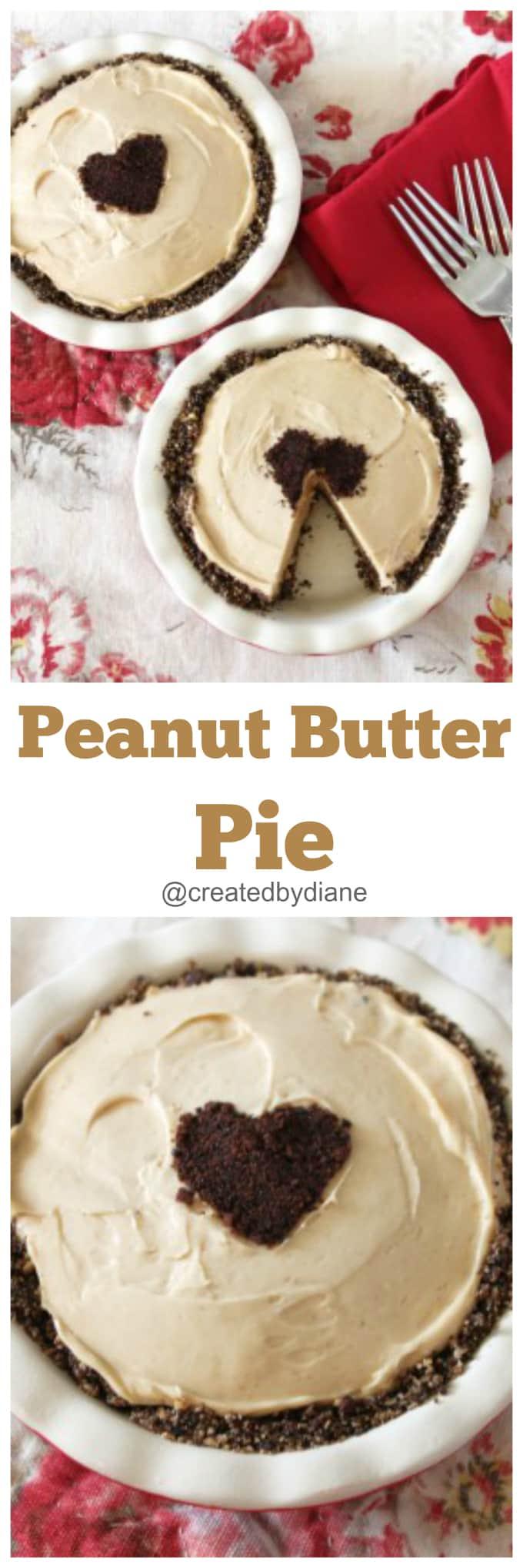 peanut butter pie @createdbydiane