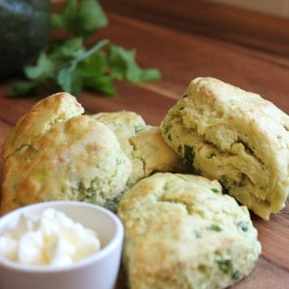 Savory Avocado Scones