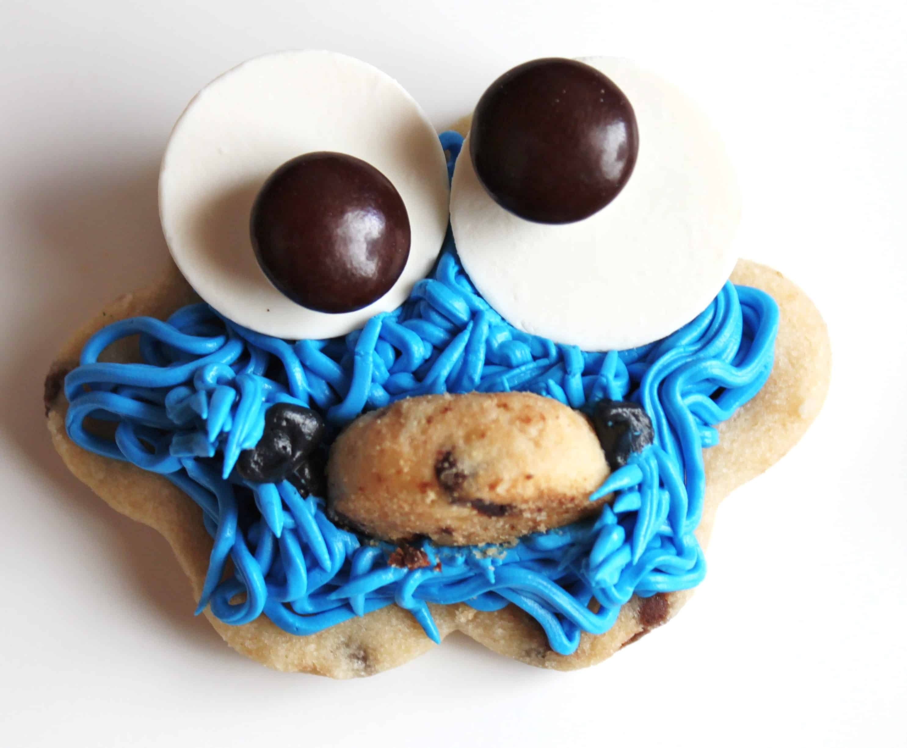 Cookie Monster Cookies | Created by Diane