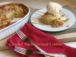 Easy Apple Cobbler recipe with title