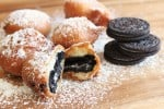 Fried Oreo-pancake batter