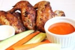 Grilled Hot Wings with Saucy Mama