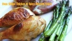 Oven-Grilled-Chicken-with-Spicy-Mustard-Sauce