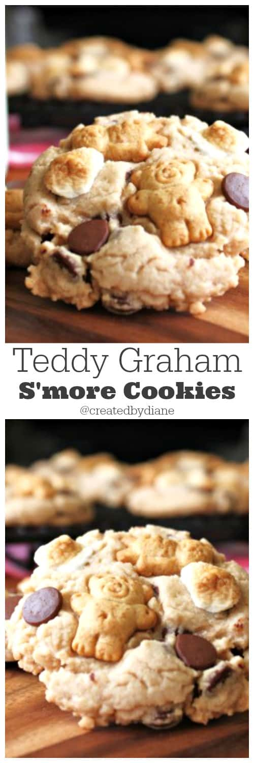 Teddy Graham S'more cookies from @createdbydiane