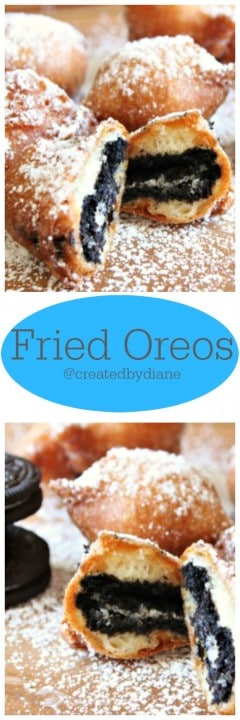 fried oreos @createdbydiane