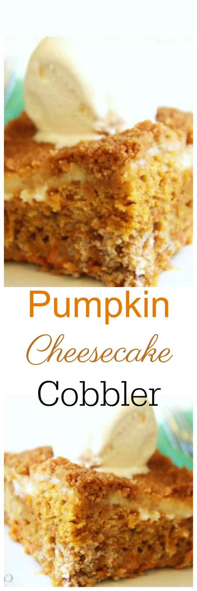 Pumpkin Cheesecake Cobbler   Created by Diane