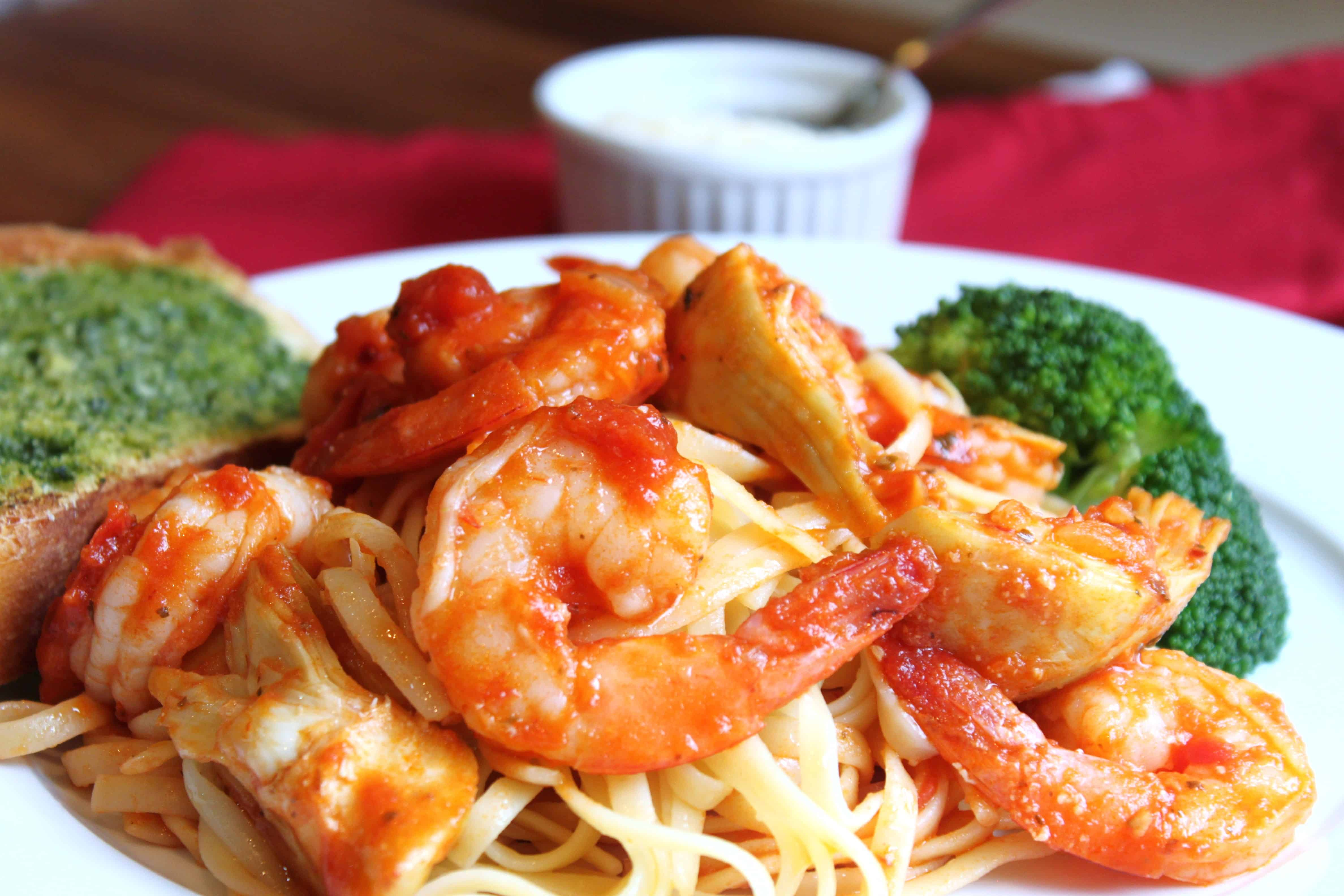 shrimp fra diavolo created by diane