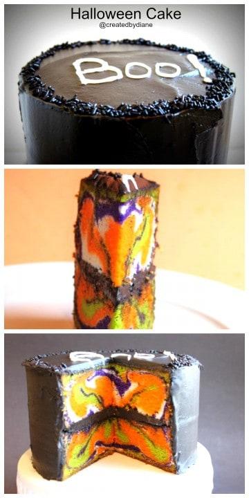Halloween Cake @createdbydiane