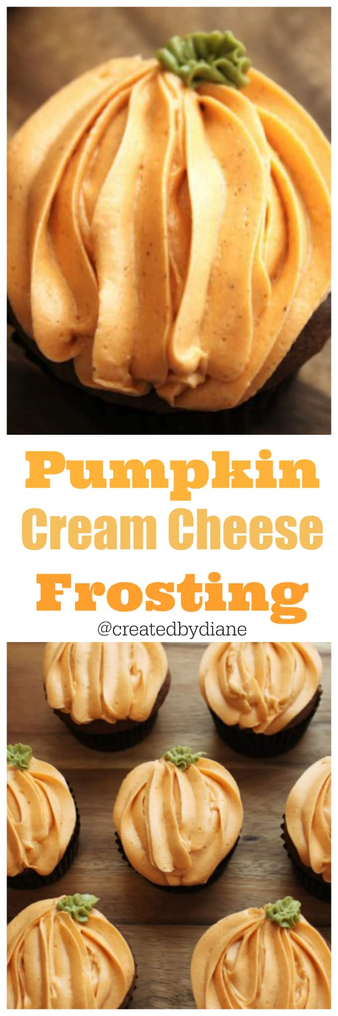 Pumpkin Cream Cheese Frosting @createdbydiane