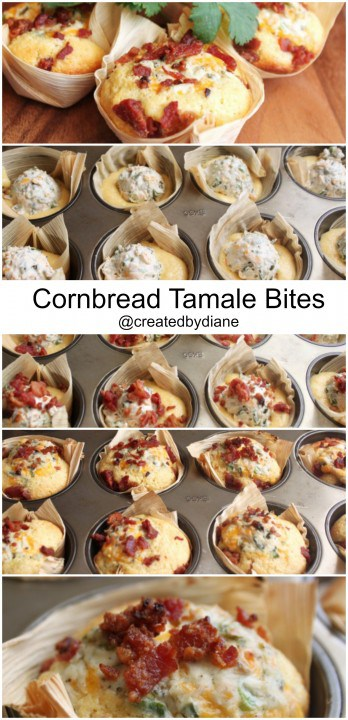 cornbread tamale bites @createdbydiane
