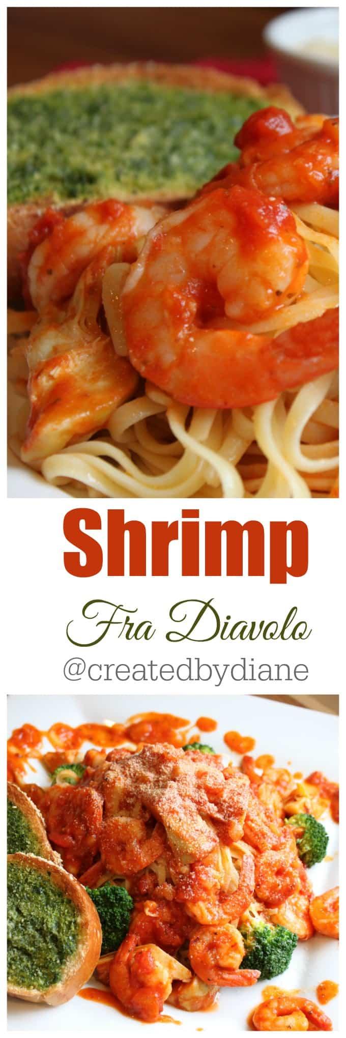 shrimp fra diavolo @createdbydiane