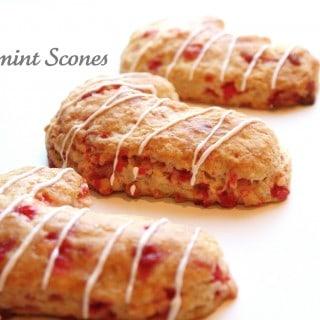 Peppermint Scones